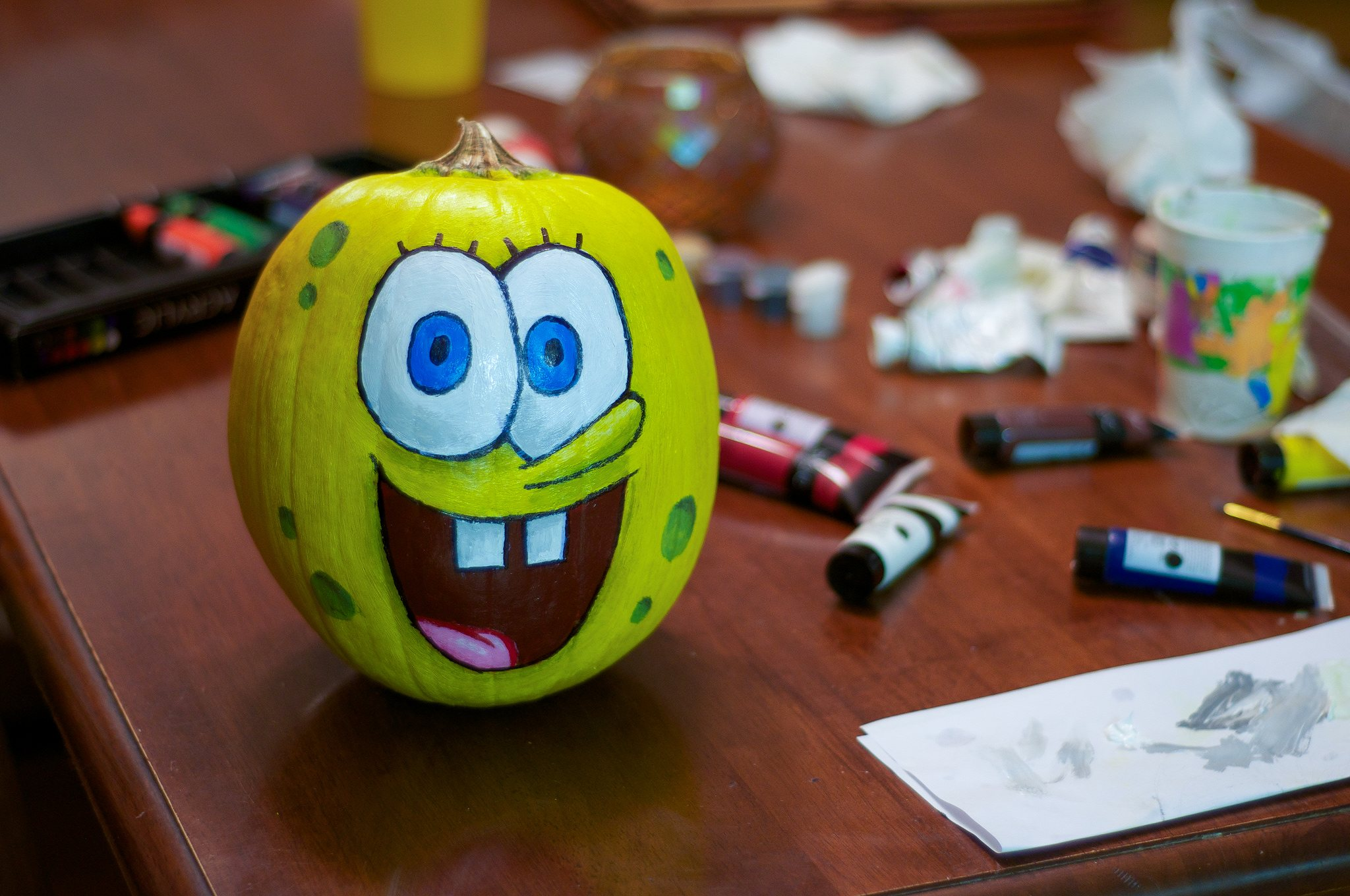 no carving required: painted pumpkin ideas & inspiration
